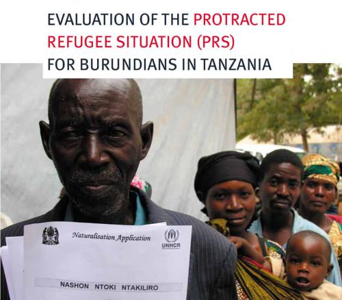 Evaluation of the protracted refugee situation (PRS) for Burundians in Tanzania